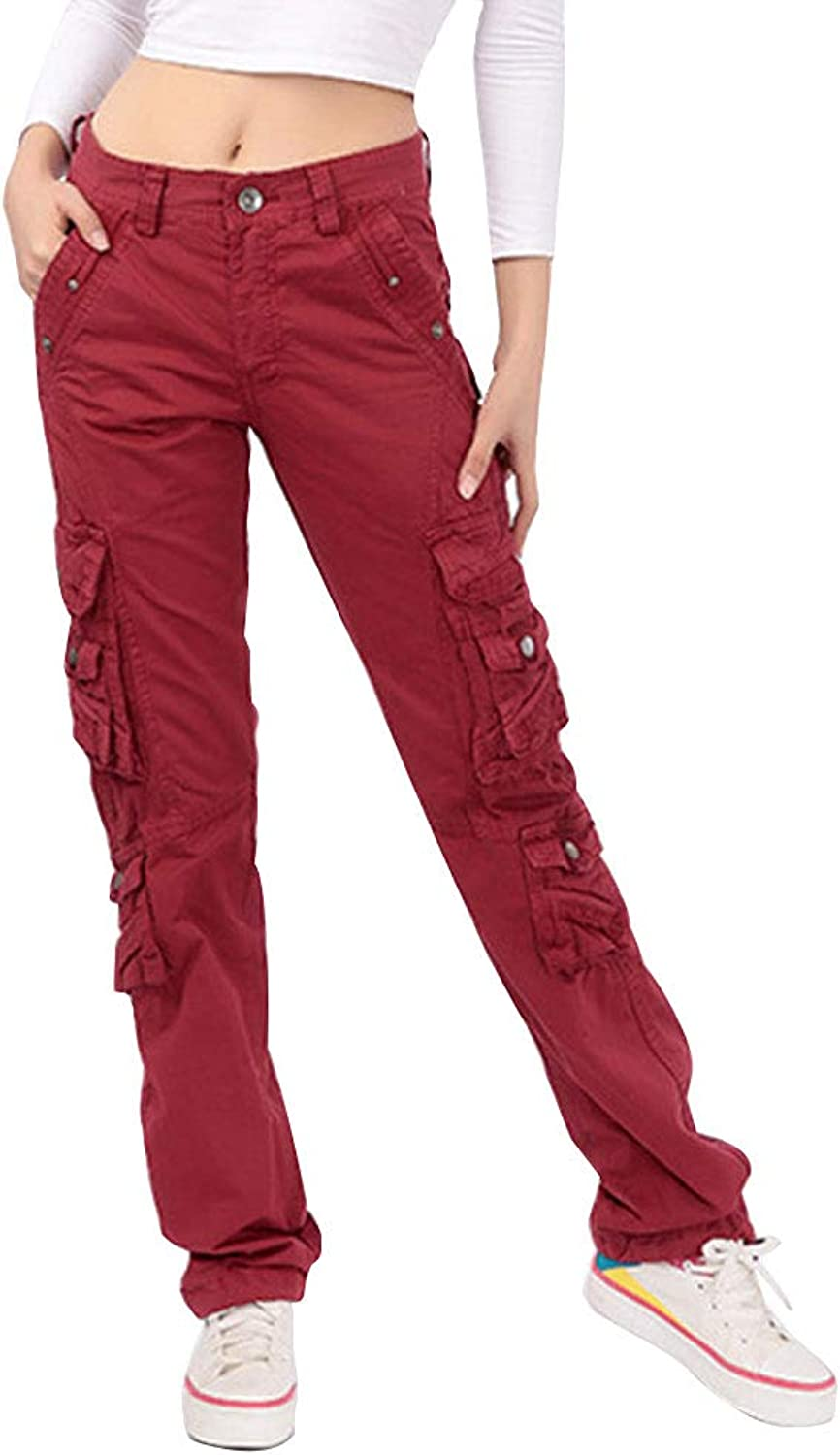 EVEDESIGN Women's Active Fitted Military Pants