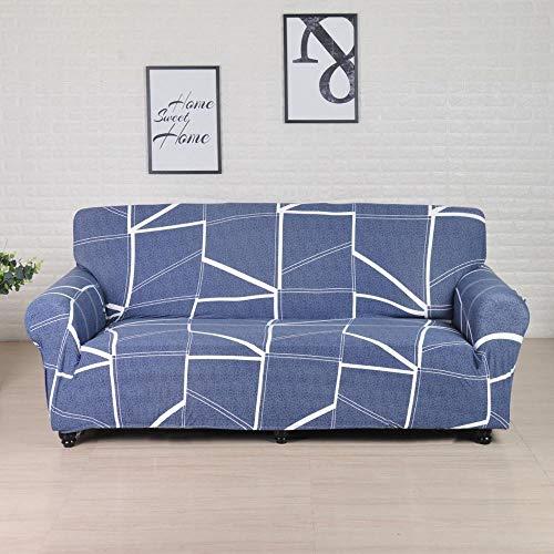 Fundas elásticas Funda de sofá elástica para Sala de Estar Funda de sofá seccional Funda de sillón en Forma de L A30 4 plazas