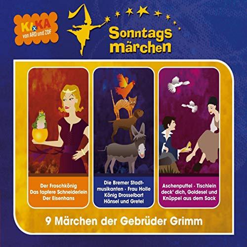 Ki.ka Sonntagsmärchen - Hörspielbox 1 Titelbild