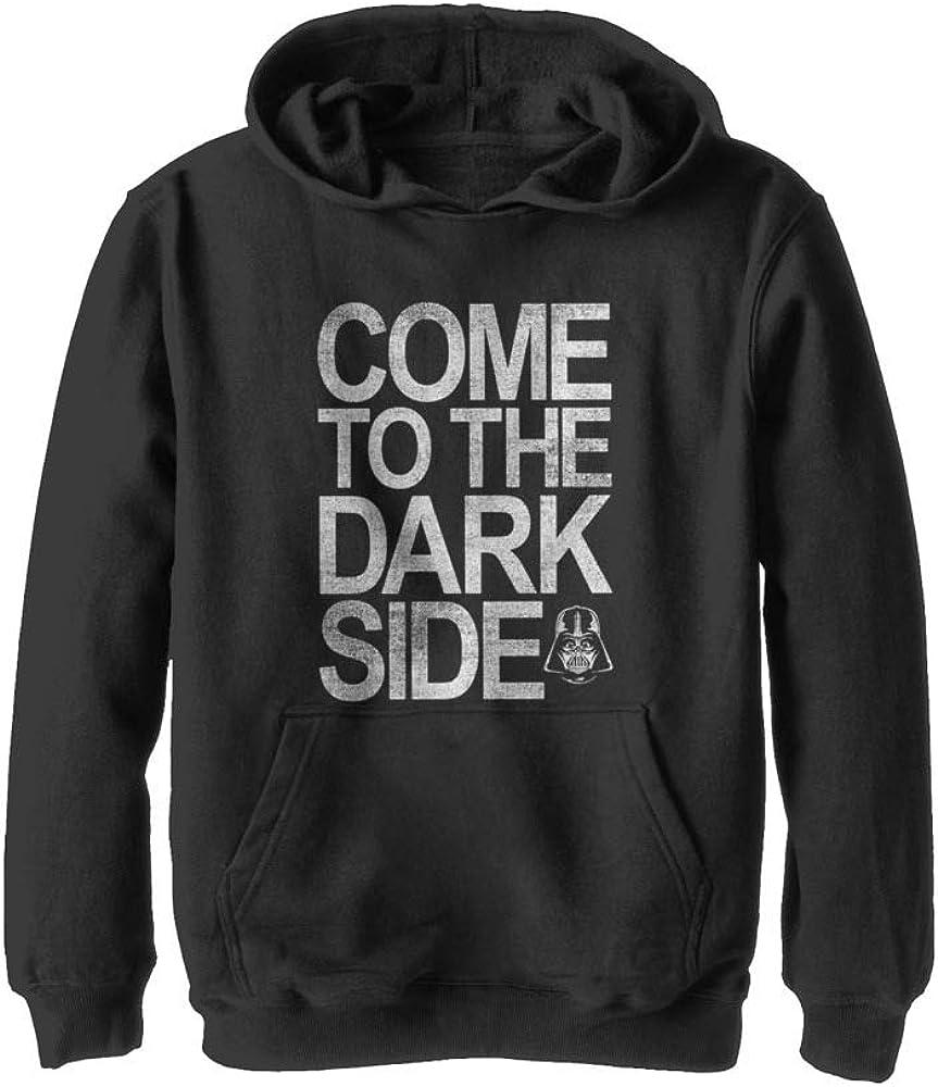 Boy's Star Wars Dark Side of The Force Pull Over Hoodie