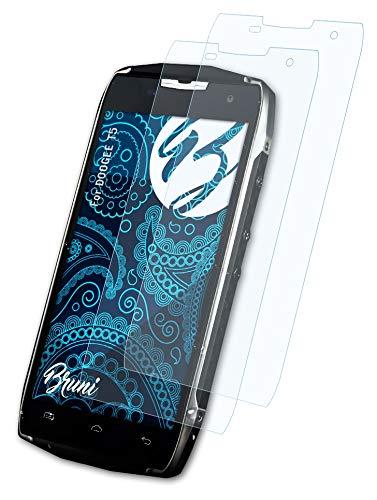Bruni Schutzfolie kompatibel mit DOOGEE T5 Folie, glasklare Bildschirmschutzfolie (2X)