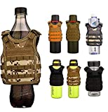 Rossebear – Chaleco de cerveza militar táctico mini ajustable para bebidas,...