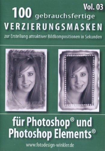 100 Verzierungsmasken für Photoshop Vol. 3