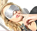 Sleep More Sleep Mask for Sleeping Disorders and Insomnia, Silver