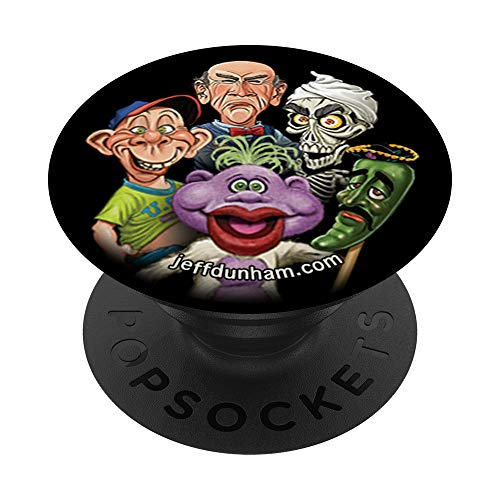 Jeff Dunham: Bubba J, Peanut, Walter, Achmed, Jose PopSocket PopSockets PopGrip: Swappable Grip for Phones & Tablets