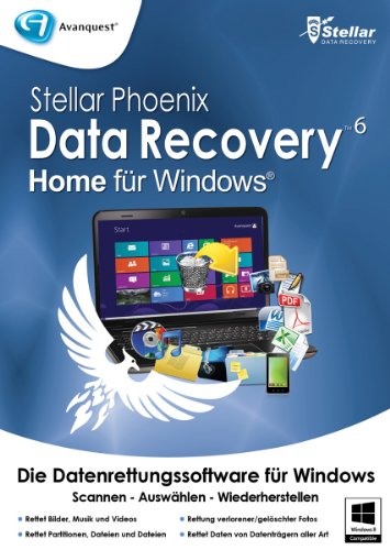 Stellar Phoenix Data Recovery 6 Home Windows [Download]