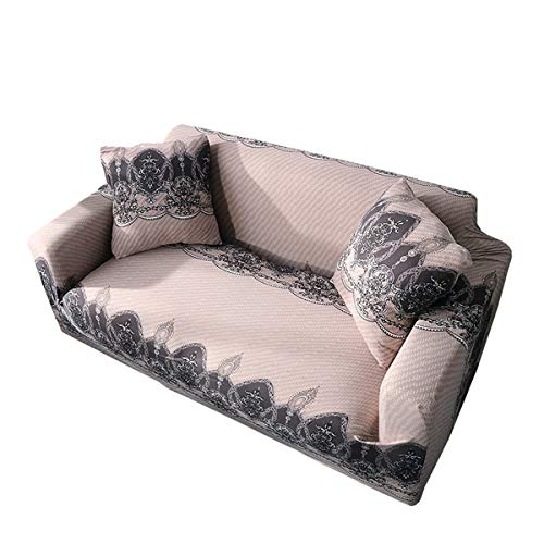 Yunchengyunxiangtong Stretch Couch All-Inclusive-Universal-Abdeckungs-Leder-Sofa-Abdeckung Full Cover Tuch Elastic Faule Sofa-Abdeckung (Size : Triple)