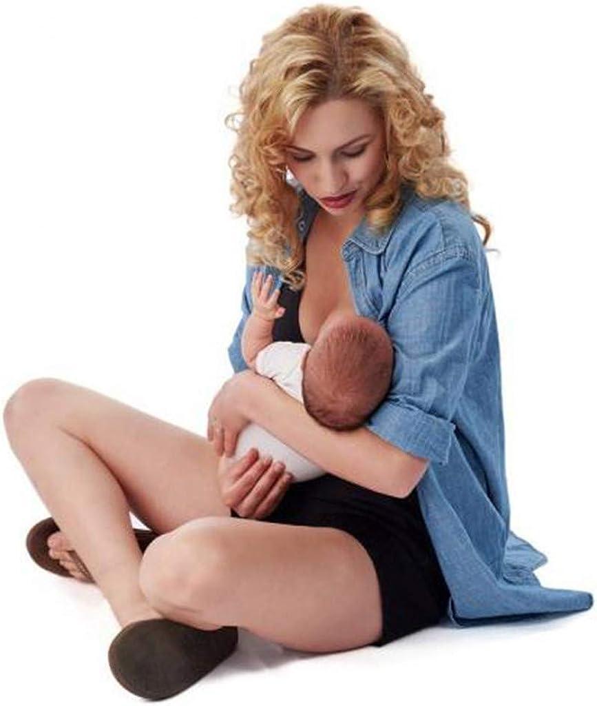 Baby Carrier Shirt Women Skin to Skin Top Kangaroo Pouch Pocket T Shirt for Mom