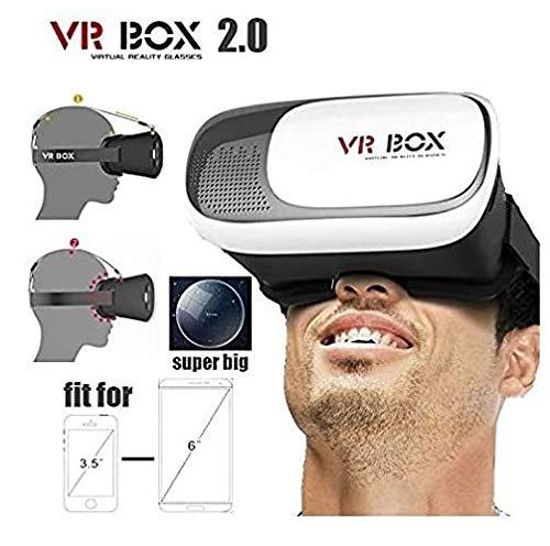 Gafas 3D VR Box Realidad Virtual Video Version Carton para 4.7