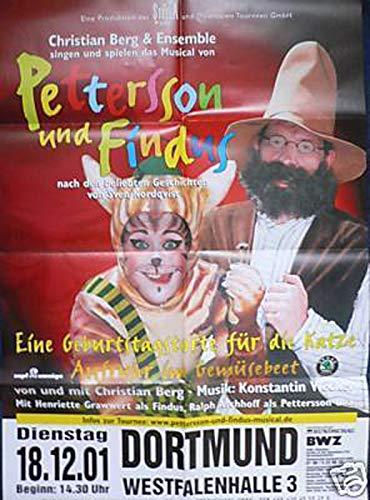 Pettersson und Findus - Dortmund 2002 Konzert-Poster