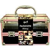Gloss - caja de maquillaje, caja de regalo para mujeres - ¡ Set de Regalo - Set de Maquillaje - Fashion Make Up Case - 68pcs - Fashion Make Up Case