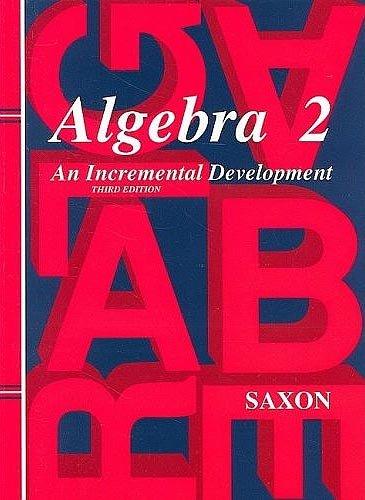 Homeschool Kit 2007: Third Edition (Saxon Algebra 2)