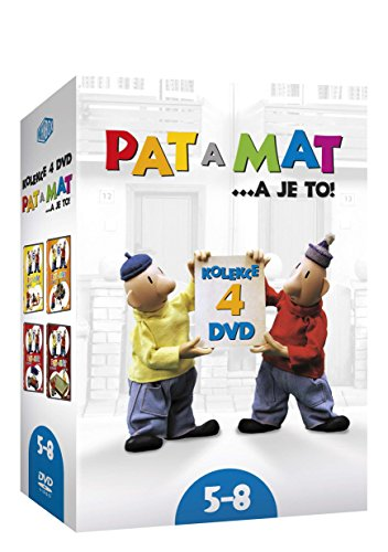 Pat a Mat (A je to) 5-8 4DVD collection