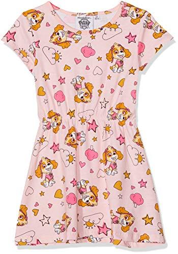 PAW PATROL Mädchen 6030 Kleid, Hellrosa, 104