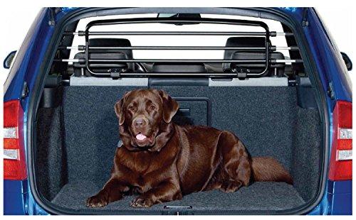 Kleinmetall Roadmaster Deluxe geeignet für Hyundai Atos + Getz + i20 + ix20 + Tucson Hundegitter/Trenngitter mit Schnell-Spanner System