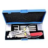 DBH Kit professionnel de crochetage et de réparation de serrure 12-en-1