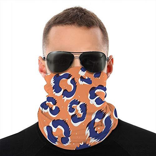 Écharpe de cou en microfibre respirante multifonctionnelle demi-couverture bouclier peau d'animal polaire couverture bouclier
