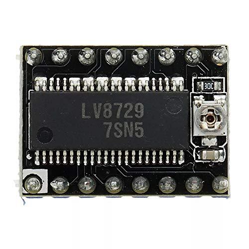 Landa tianrui DIY Electronic kit Ultra-Silent 4-Schicht Substrat MKS-LV8729 Schrittmotor-Treiberunterstützung 6V-36V mit Kühlkörpern for 3D-Drucker