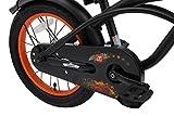 BIKESTAR Kinderfahrrad für Jungen ab 4-5 Jahre | 16 Zoll Kinderrad Cruiser | Fahrrad für Kinder Schwarz (matt) | Risikofrei Testen - 8