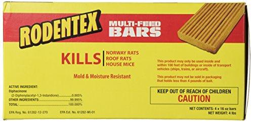 Farnam Rodentex MultiFeed Bars 4 lbs 4 16 oz bars