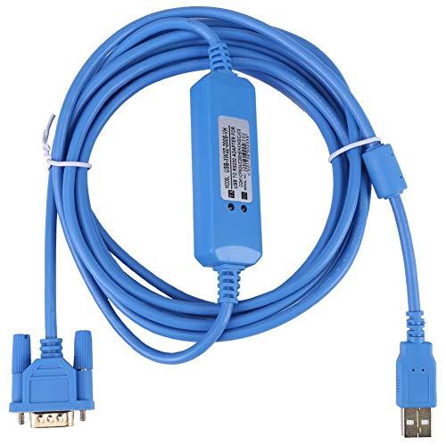 Jadpes Cable de programación PLC, 1pc Cable de programación PLC...