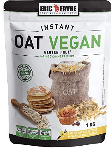 Eric Favre Instant Oat Vegan Farine d'Avoine Premium 1 kg -...