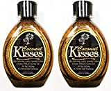 Lot of (2) Ed Hardy COCONUT KISSES Golden Tanning Lotion, 13.5 oz