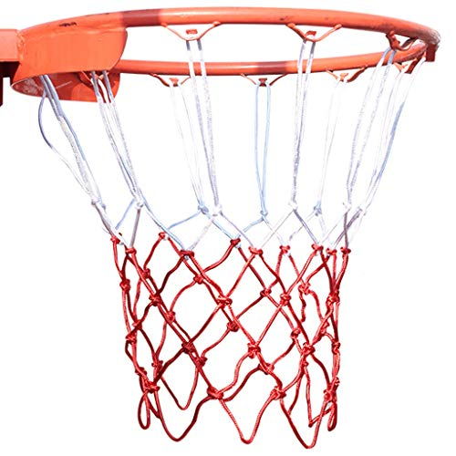 HXR Basketball Frame Net Durable Blue Net Bag Basket Frame Hanging Frame Shooting Net Frame Net (Color : B)