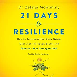 21 Days to Resilience audiobook cover art