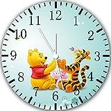 Winnie the Pooh orologio da parete 10 'sarà bello regalo e Camera della decorazione della parete Y06