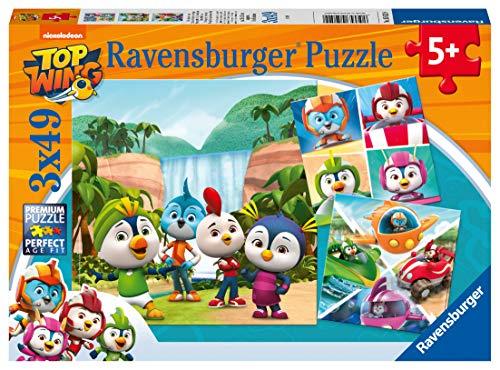 Ravensburger - Puzzle Top Wing, pack de 3 x 49 piezas (05052)