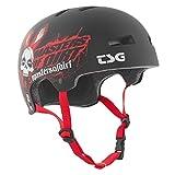 TSG Helm Evolution Company Design Casco de Skateboarding, Unisex, Negro (Mod), L/XL