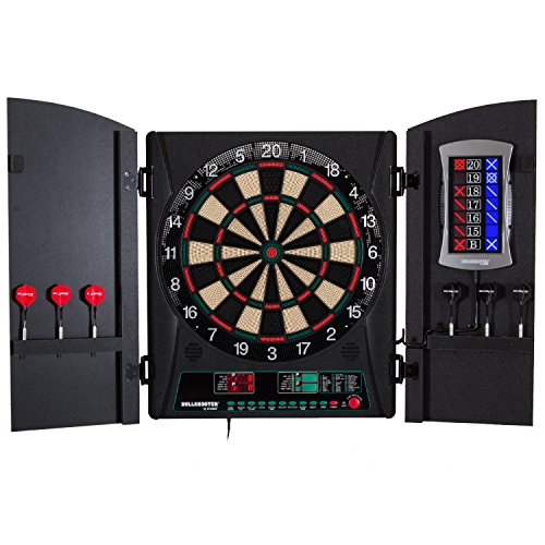 Arachnid Cricket Maxx 1.0 Electronic Dartboard Cabinet Set