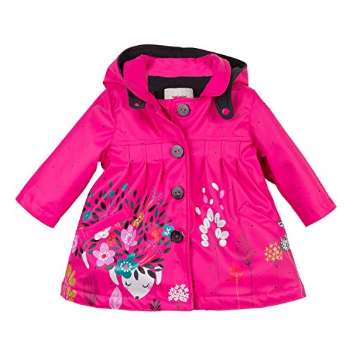 Catimini Baby-Mädchen Parka Gomme Pour Jacke, Pink (Fuchsia 35), 9-12 Monate (Herstellergröße: 12M)