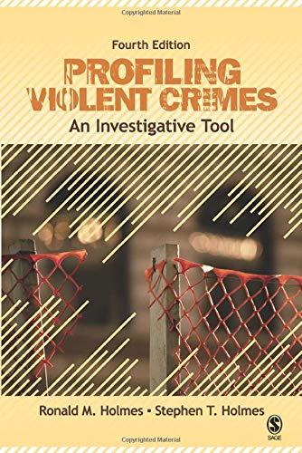 Profiling Violent Crimes: An Investigative Tool