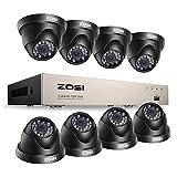 ZOSI CCTV Kit de Cámaras de Seguridad 720P Sistema de...
