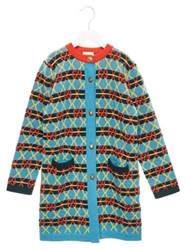 Luxury Fashion | Gucci Meisjes 571625XKATZ4602 Blauw Wol Vesten | Herfst-winter 19