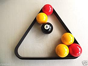 Homegames Pub Pool Table Ball Triangle UK 2 Inch Billiard Size by Matchplay billiards