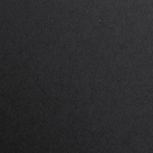 Clairefontaine 97350C Tonzeichenpapier Maya (DIN A4, 21x29,7cm, 120 g, ideal für Trockentechniken, 25 Bögen) schwarz