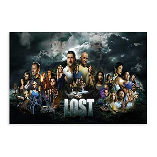 KYSD Sci-Fi Adventure TV Series Lost TV Show Poster 5 Canvas Poster Bedroom Decor Sports Landscape Office Room Decor Gift