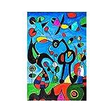 Joan Miró 11 Leinwand-Poster, Wandkunst, Deko, Bild,