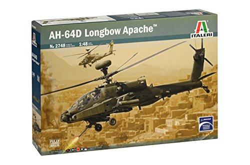 Italeri 2748 - Ah-64d Apache Longbow Model Kit Scala 1:48