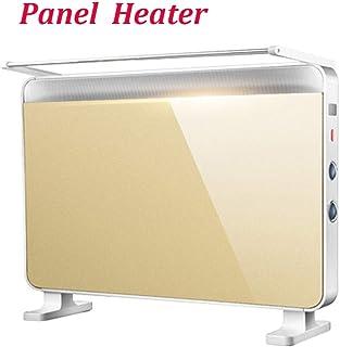 G-qnq Calentadores de Panel de Pared/Vertical de Calentadores Eléctricos Calentadores de convección Oro Tres Tipos de radiadores de calefacción Modos de Inicio de baño (tamaño: 760x220x550 mm) A ++