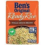 BEN'S ORIGINAL Ready Rice Pouch Whole Grain Brown, 8.8 oz. (6 Pack)