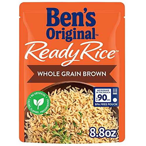 BEN'S ORIGINAL Ready Rice Pouch Whole Grain Brown,...