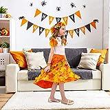 400 Stück Künstliche Ahornblätter Herbstlaub Kunst Farben Simulation Ahornblatt Perfekte Herbst Dekoration,Herbst Hochzeit Dekorationen-4 Farben - 9
