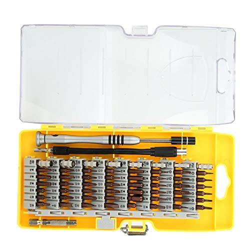 Destornillador Desarmado multifunción 60 en 1 Juego de puntas de destornillador Herramientas de reparación para teléfonos Gafas
