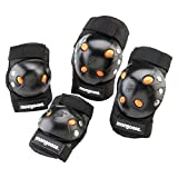 Mongoose Youth BMX Bike Gel Knee and Elbow Pad...