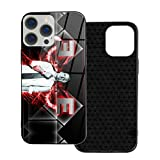 Protection Case Compatible with iPhone 12 Pro/iPhone 12 Glass Case Emin-Em Lightweight Phone Cases/Cover for Women Boys Ip12Pro Max-6.7