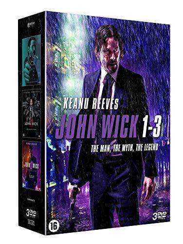 John Wick - Coffret Integrale 3 Films [DVD]